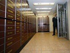 Хранение ценных вещей в банковской ячейки