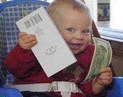Детские вклады
