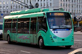 Власти Калининграда объявили аукцион на покупку троллейбусов