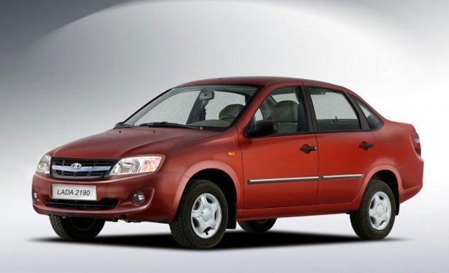 В России упали продажи легковых автомобилей